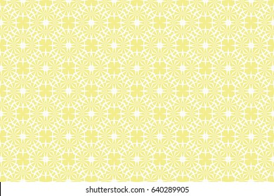 seamless geometry floral pattern. vector illustration. texture for design wallpaper, pattern fills, fabric, wrapping paper