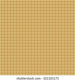 Seamless gold interweaving background. Boundless textile or metal pattern.