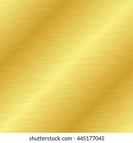 Seamless gold metal texture. Vector illustration