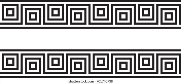 Seamless Greek Ornament