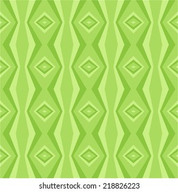 Seamless green tone color abstract pattern background