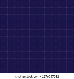 Seamless Grid for futuristic hud interface pattern. Background screen interface display. Vector illustration