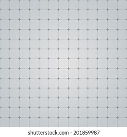 Seamless grid technology background. Vector illustration.