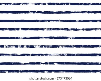 Seamless grunge black stripes. Vector illustration