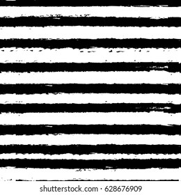 seamless grunge striped pattern vector