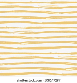 Seamless hand drawn striped pattern
