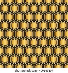 seamless Hexagon pattern background.vector
