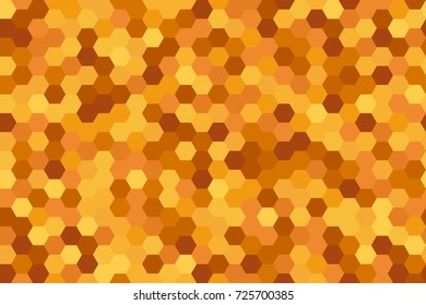 Seamless hexagons pattern in yellow from the Flat UI palette