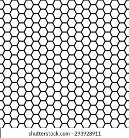 seamless honeycomb vector illustration