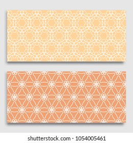 seamless horizontal borders repeating line texture stock vector