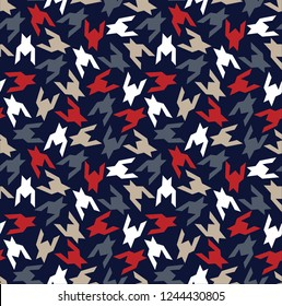 seamless  Hounds tooth pattern