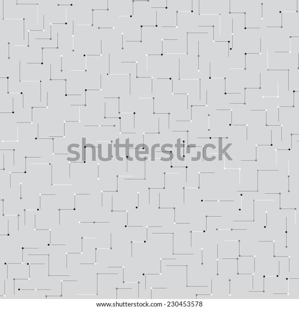 Seamless industrial linear vector wallpaper