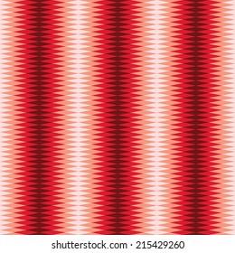 Seamless Interlocking Sawtooth Pattern - Red