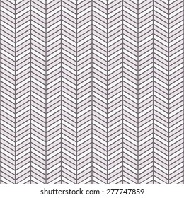 Seamless inverse black and white interchanging chevrons pattern vector