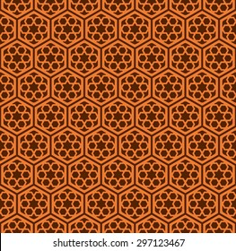 Seamless Islamic Screen Pattern.