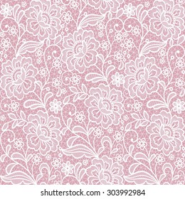 seamless lace floral background