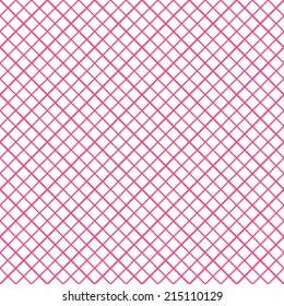 Seamless Lattice Crosshatch Vector Background Pattern