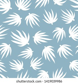 Seamless leaf leaves repeat pattern design. Ideal for textile design, graphic design or product design projects.