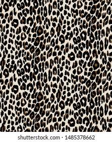 Seamless leopard design pattern vector