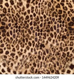 Seamless leopard skin pattern design