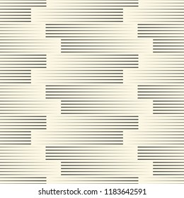 Seamless Line Wallpaper. Decorative Minimal Pattern. Abstract Graphic Design