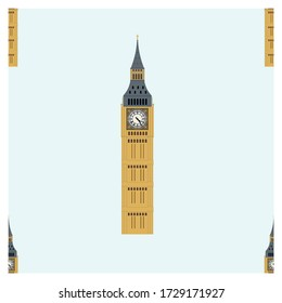Seamless London cultural icon recognised all over the world. It is one of the most prominent symbols of the United Kingdom and parliamentary democracy.