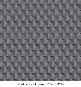Seamless low poly triangle pattern. abstract texture geometric  background