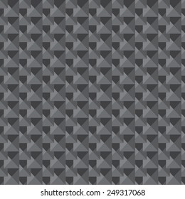 Seamless low poly triangle pattern . abstract texture geometric  background