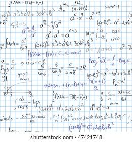 Seamless maths background