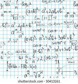 Seamless  maths pattern