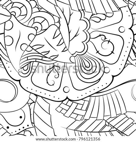 seamless mehndi vector pattern handmade illustration stock vector 16 in Binary seamless mehndi vector pattern hand made illustration black and white binary pattern