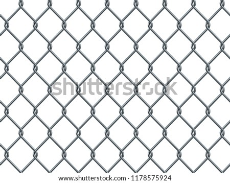Seamless Metal Industrial Wire Pattern On Stock Vector Royalty Free