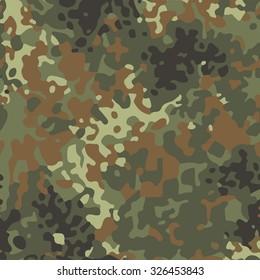 Seamless modern flectarn camouflage. Vector art.