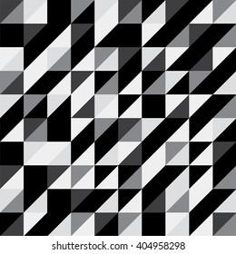 Seamless modern triangular pattern.