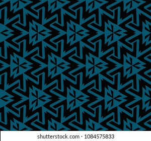 Seamless modern vector illustration with geometric ornament.