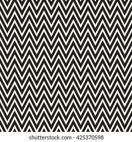 Seamless monochrome wavy lines background. Vector repeating texture.
