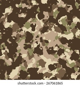 Seamless MULTICAM camouflage pattern vector