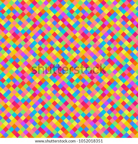 Seamless Multicolored Pattern Abstract Geometric Wallpaper Stock