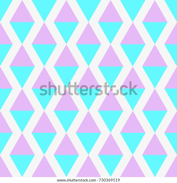 Seamless Multicolored Pattern Abstract Geometric Wallpaper
