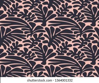 Seamless Naive Leaf Pattern