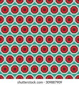 Seamless octagon pattern