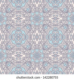 Seamless ornamental pattern. Vector illustration.