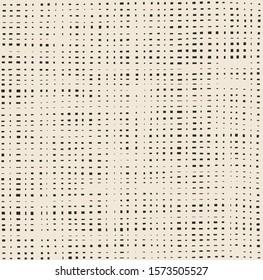 Seamless paper cut irregular grid pattern
