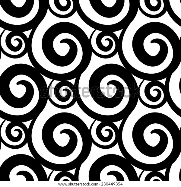 Seamless pattern abstract 7