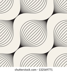 Seamless pattern. Abstract texture. Braids with diagonal direction