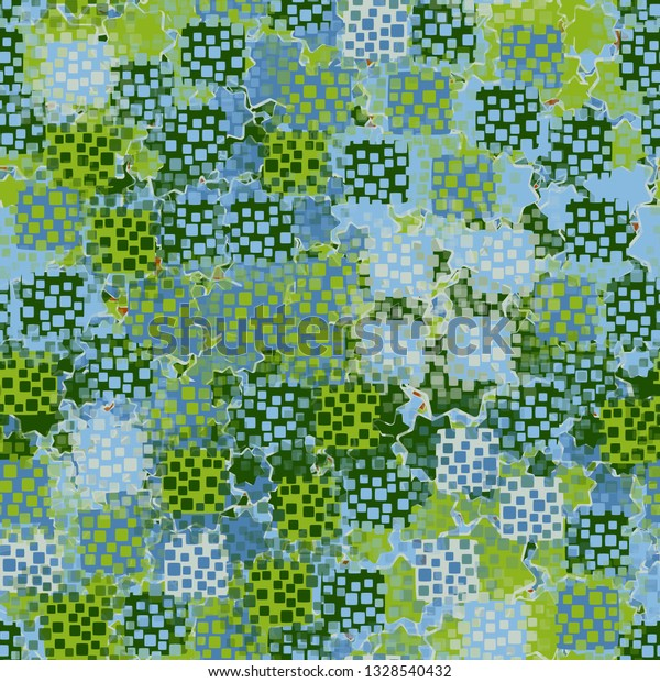 Seamless Pattern Abstract Texture Containing Inflated | Royalty ...