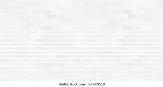 Seamless pattern of the abstract white brick wall