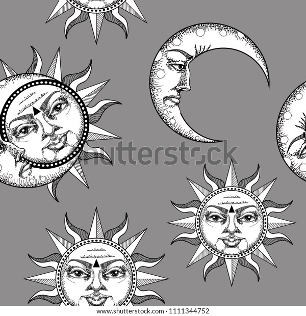 Black Cat Face Head Silhouette Looking Up To Sun Shining. Green.. Royalty  Free Cliparts, Vectors, And Stock Illustration. Image 81152433.