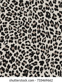 Seamless pattern animal design. Leopard background. Textile print for bed linen, jacket, package design, fabric and fashion concepts.