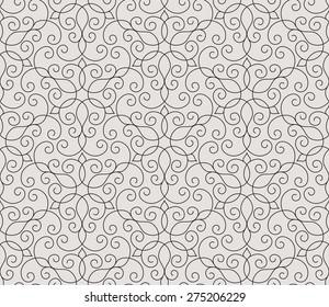 Seamless pattern in Arabic style. Arabesque. Vector illustration.